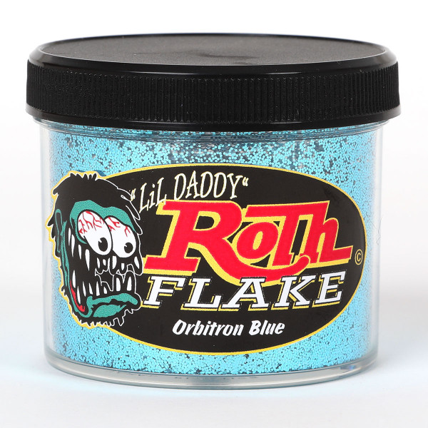 "Roth Metal Flake Standard .015"" Orbitron Blue"