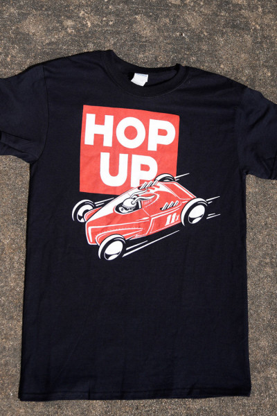 HOP UP Speed Bunny Shirt