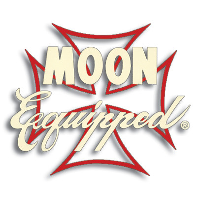 DECAL MOON EQUIPPED IRON CROSS RED