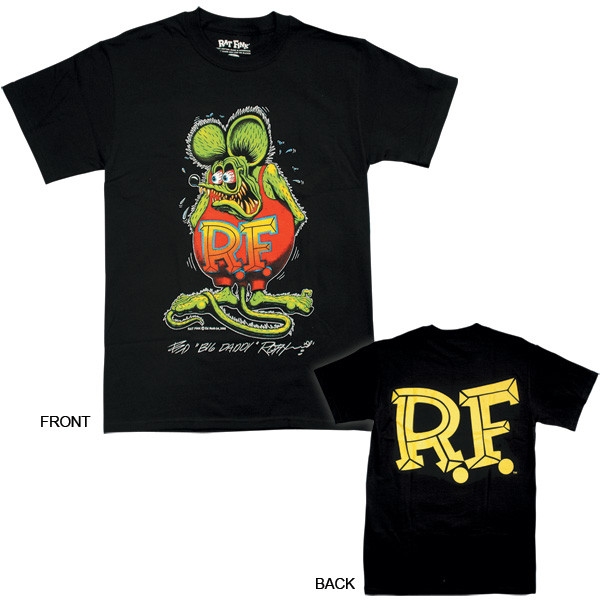 Rat Fink T-shirt Black