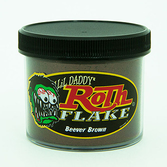 Lil' Daddy Roth Metal Flake Standard .015 Beever Brown