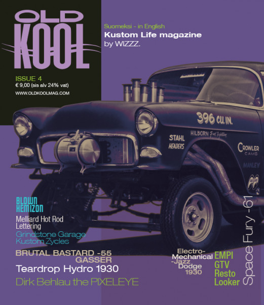 OLD KOOL Kustom Life Magazine Issue 4