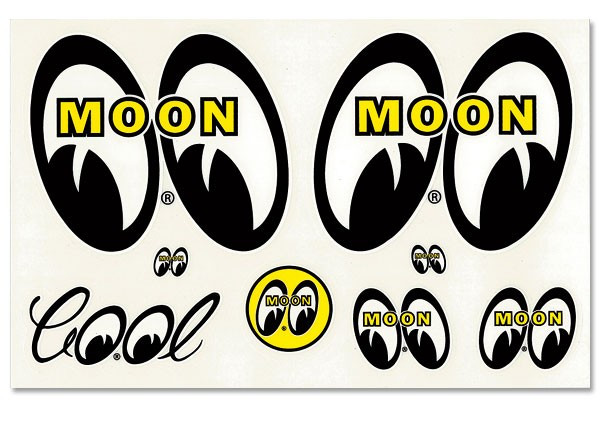MOONEYES Stickerset