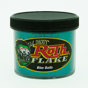 Lil' Daddy Roth Metal Flake Standard .008 Blue Balls