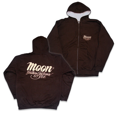 Mooneyes Southern California Style Hooded zip-up