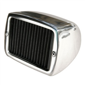 "Spark Arrester Style air cleaner. 2 5/8"" size"