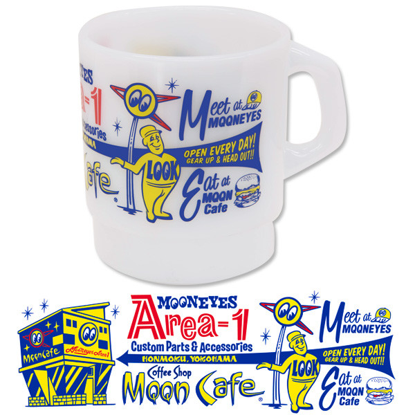MOON Shop Milky Mug