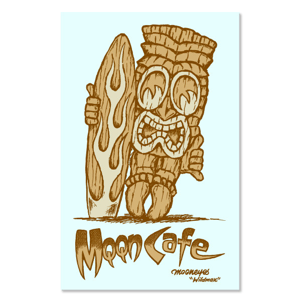 MQQN Cafe Tiki Sticker