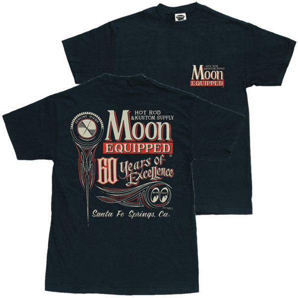 T-SHIRT MOON 60YEARS