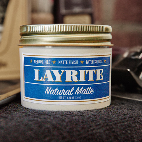 Layrite Natural Matte Cream 4,25oz/ 120gr.