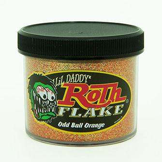 Lil' Daddy Roth Metal Flake Standard .008 Oddball Orange