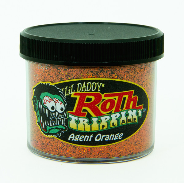 Lil' Daddy Roth Metal Flake Trippin' .015 Agent Orange