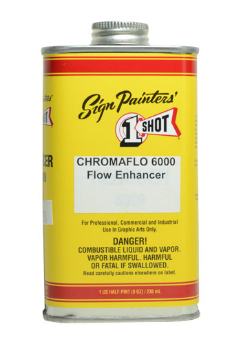 1- Shot Chromaflo 6000/ ZZ6000 Flow Enhancer