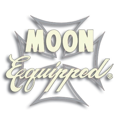 DECAL MOON EQUIPPED IRON CROSS SILVER