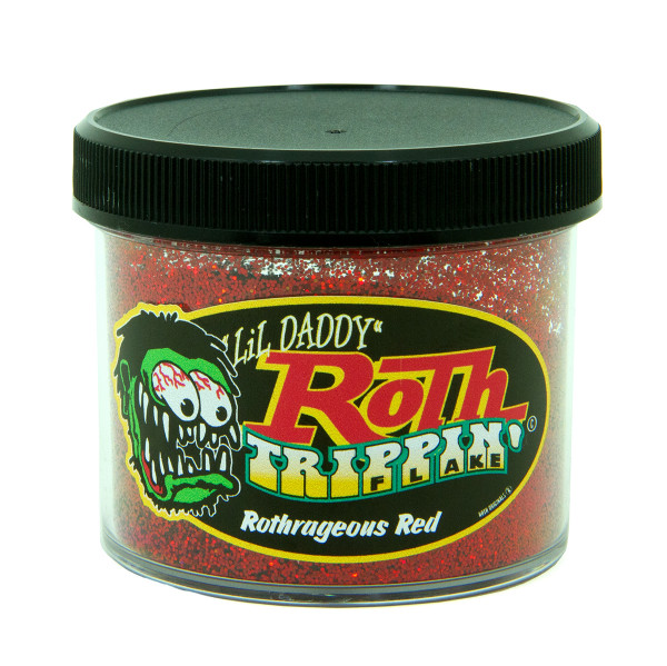 Lil' Daddy Roth Metal Flake Trippin' .015 Rothragerous Red