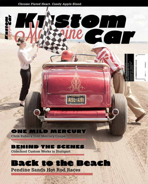 KUSTOM CAR MAGAZINE Issue 4