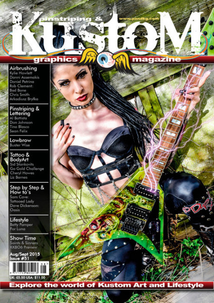 Pinstriping&Kustom Graphics Magazine Issue 51
