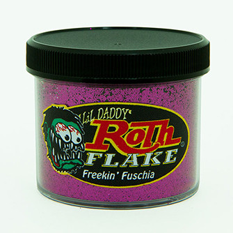 Lil' Daddy Roth Metal Flake Standard .015 Freekin' Fuschia