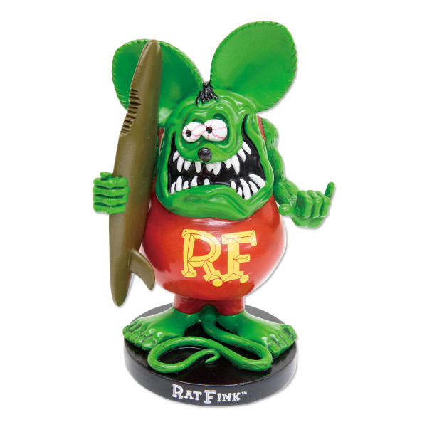 Rat Fink Bobbing Doll with Surfboard