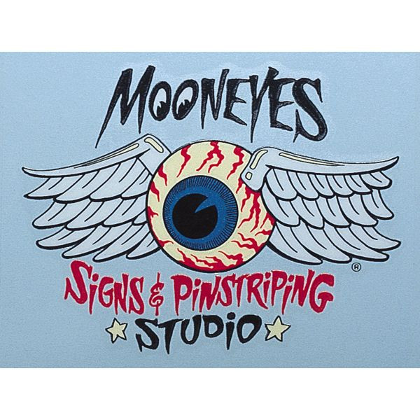 Decal Mooneyes Signs & Pinstripinstriping Studio