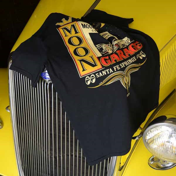 MOON Garage SFS T-shirt