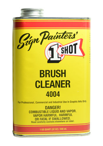 1- Shot Brush Conditioner & Cleaner