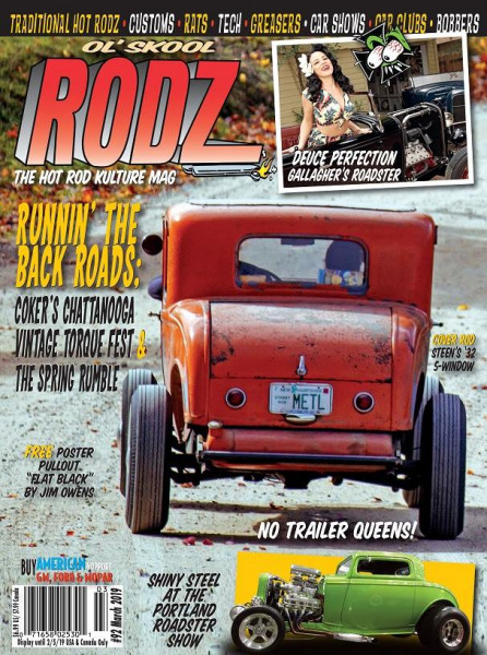 OL' SKOOL RODZ Issue 92