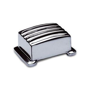 Polished finned aluminum Regulator Cover.