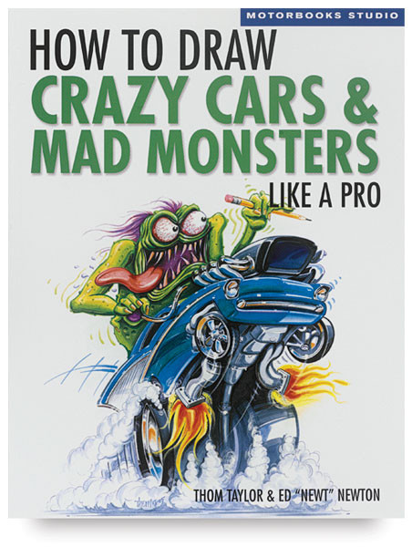 How to Draw Crazy Cars&Mad Monsters