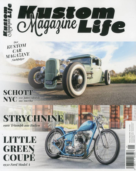 Kustom Life Magazine Issue 1/2016