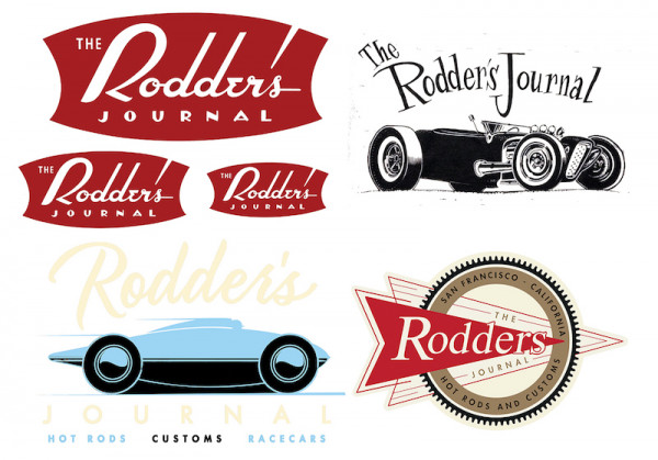 Rodder's Journal Sticker Pack