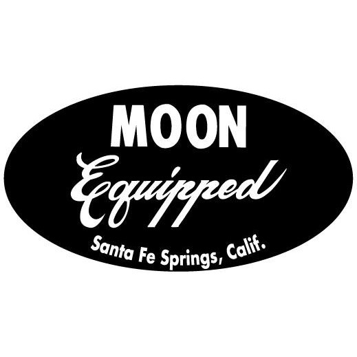 DECAL MOON EQUIPPED OVAL.