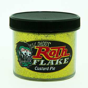 Lil' Daddy Roth Metal Flake Standard .015 Custard Pie