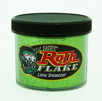 Lil' Daddy Roth Metal Flake Standard .015 Lime Squeezer 60gr.