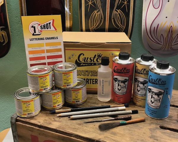 Advanced Pinstriping Kit